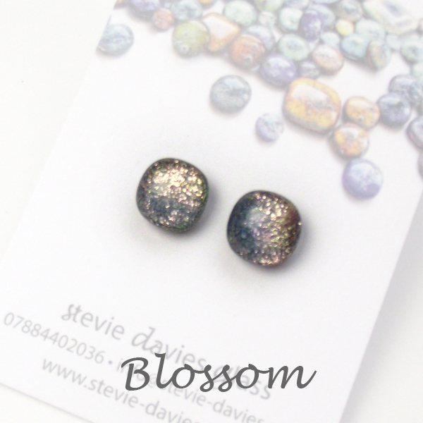 Blossom stud earrings by Stevie Davies