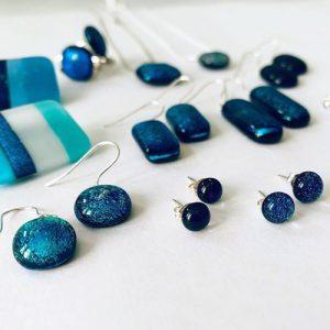 Glass jewellery from Stevie Davies