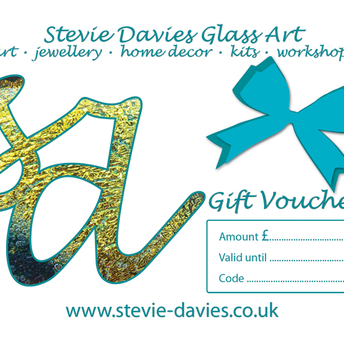 Gift vouchers available for £10, £25 and £50