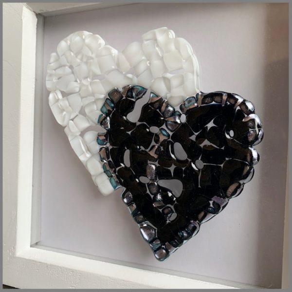 Photo of framed artwork example from Stevie Davies kit