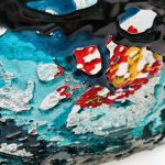 Details of glass artwork commission