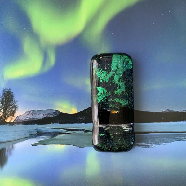 Aurora Borealis, Northern Lights inspired pendant by Stevie Davies